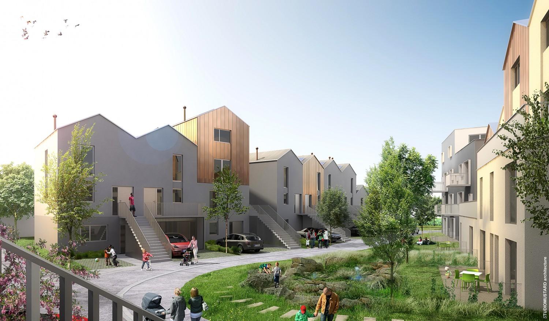 71 logements collectifs et intermediaires ru de gravereau sens 89 studio mustard. Black Bedroom Furniture Sets. Home Design Ideas